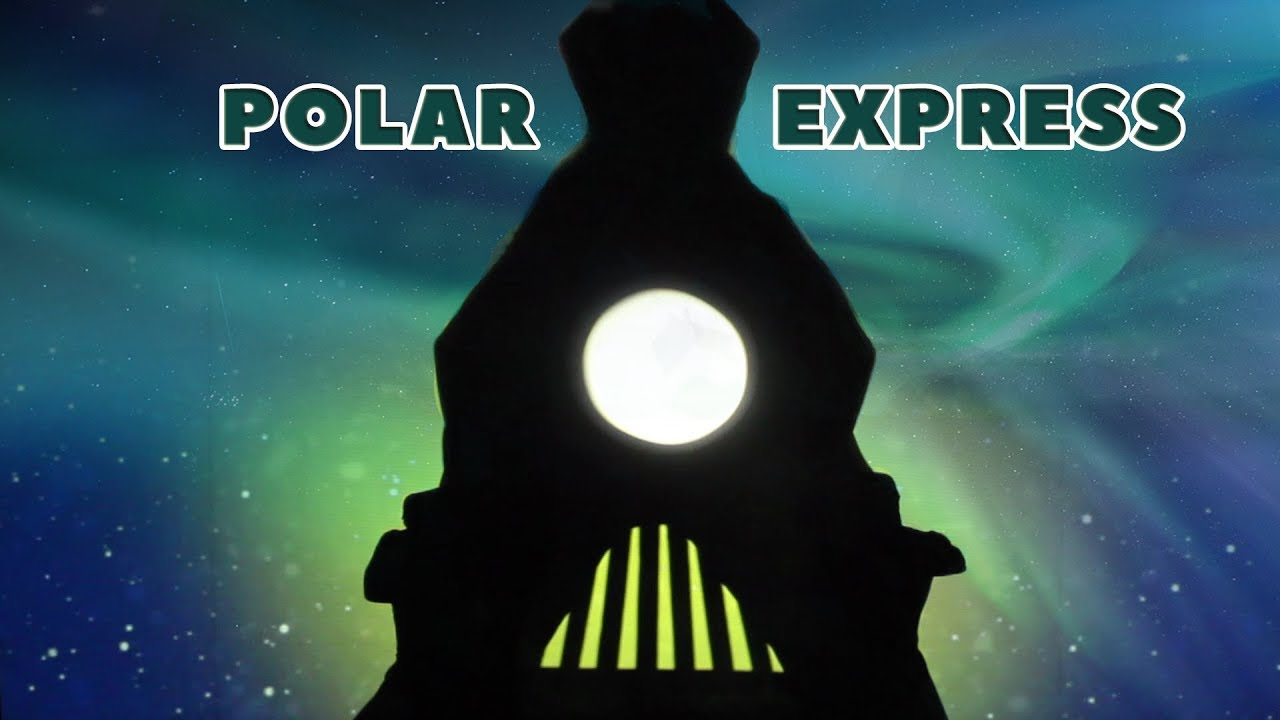 Полярний експрес, Полярный Экспресс, Polar Express, Verba Shadow Theatre, Fireflies Shadow Theatre