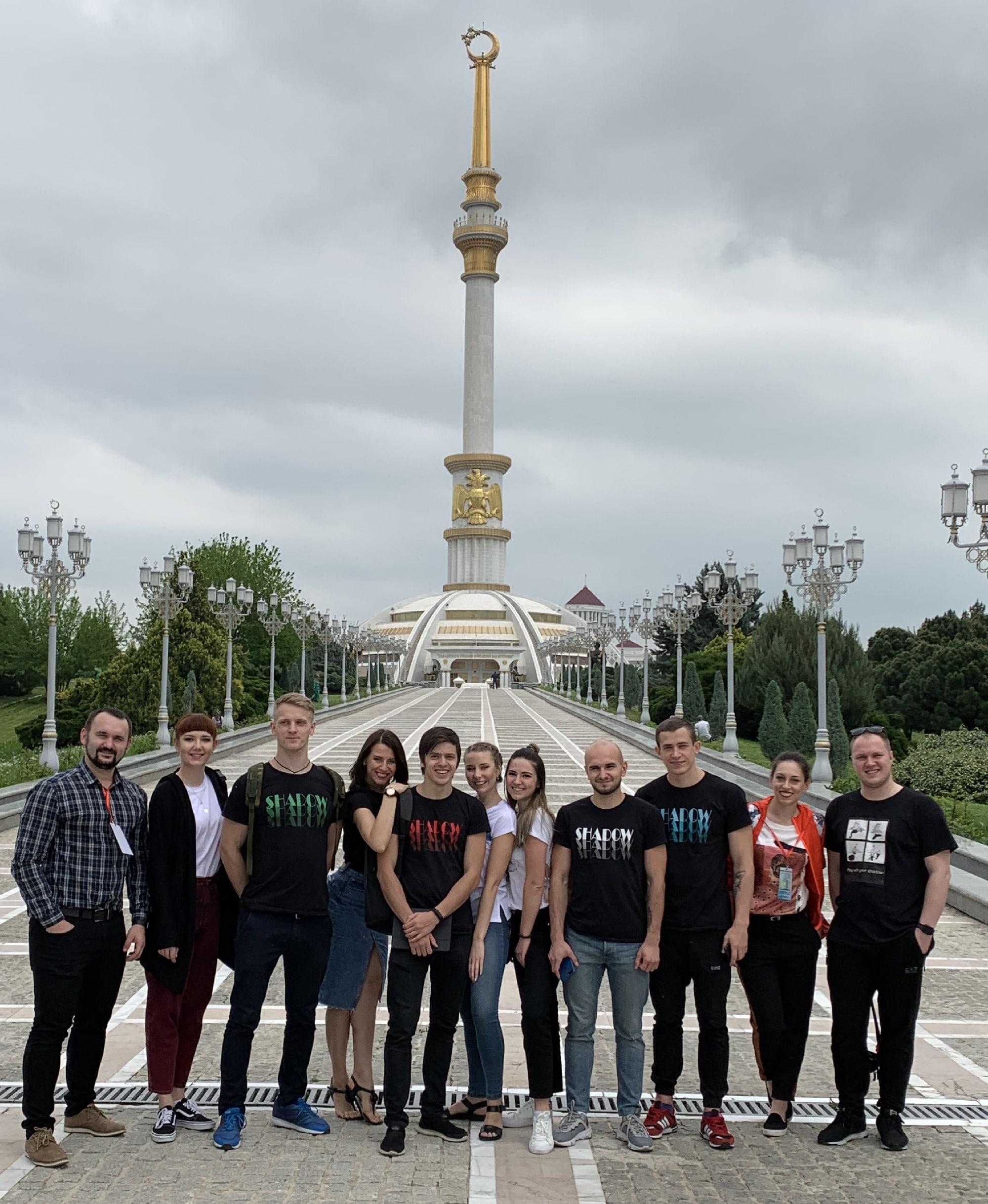 театр теней на Söwda we hyzmat - 2019 shadow theatre in Turmenistan
